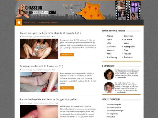 ChasseurDeCougars.com