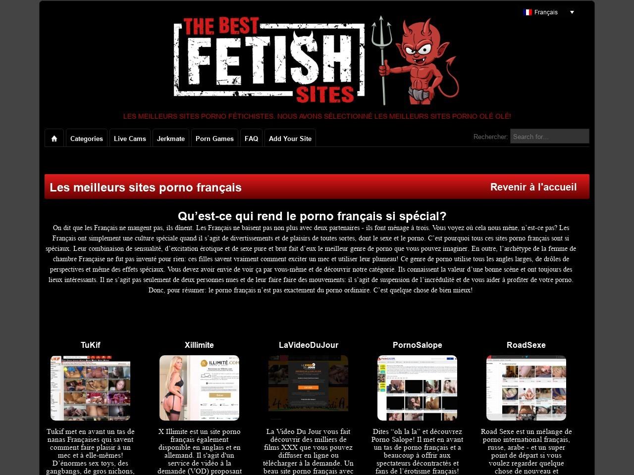 Sites Porno Français - Les meilleurs sites Porno 2021 par